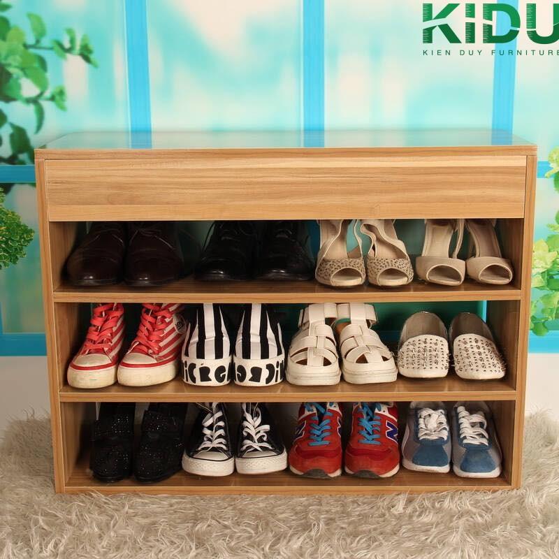 Tủ giày gỗ cao cấp tại Kiến Duy