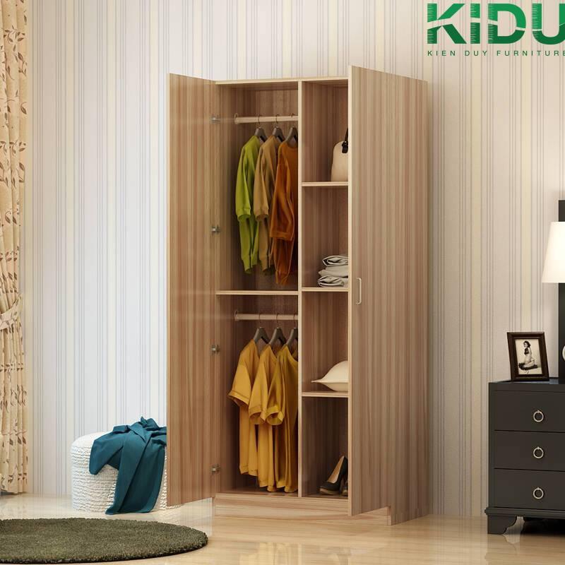 Thiết kế tủ quần áo tại Kiến Duy