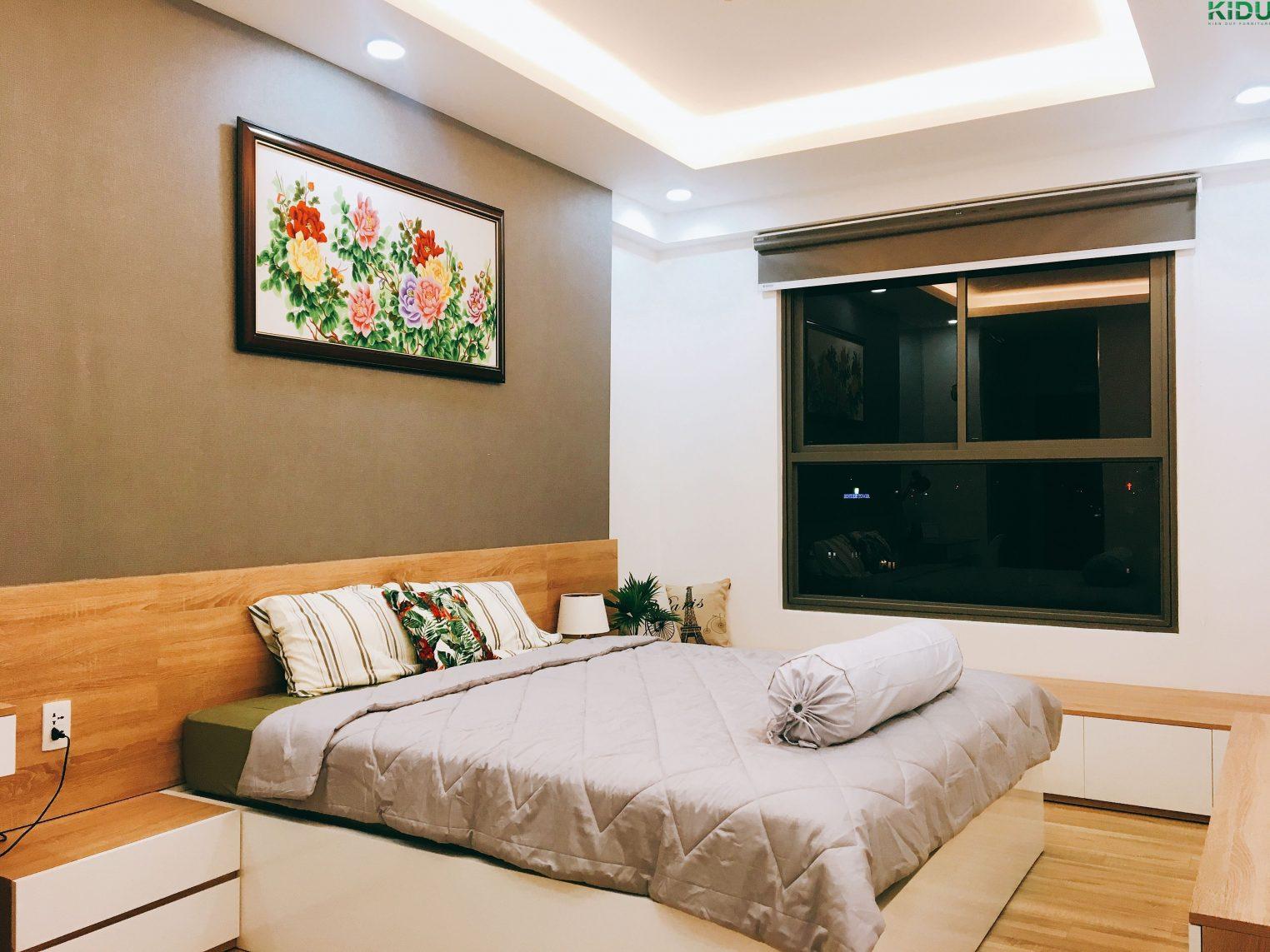 Thiết kế phòng ngủ mang lại sự thoải mái giúp người sử dụng có thể ngủ ngon hơn