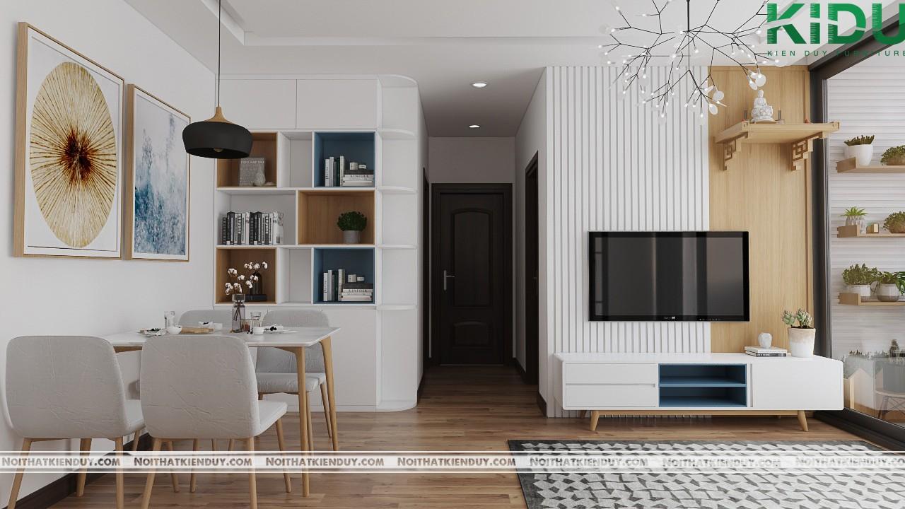 Sắp xếp và bố trí nội thất bên trong căn phòng thích hợp