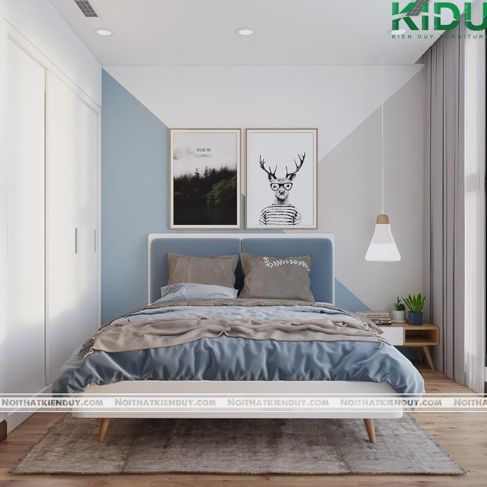 Phong cách phòng ngủ lịch lãm, sang trọng