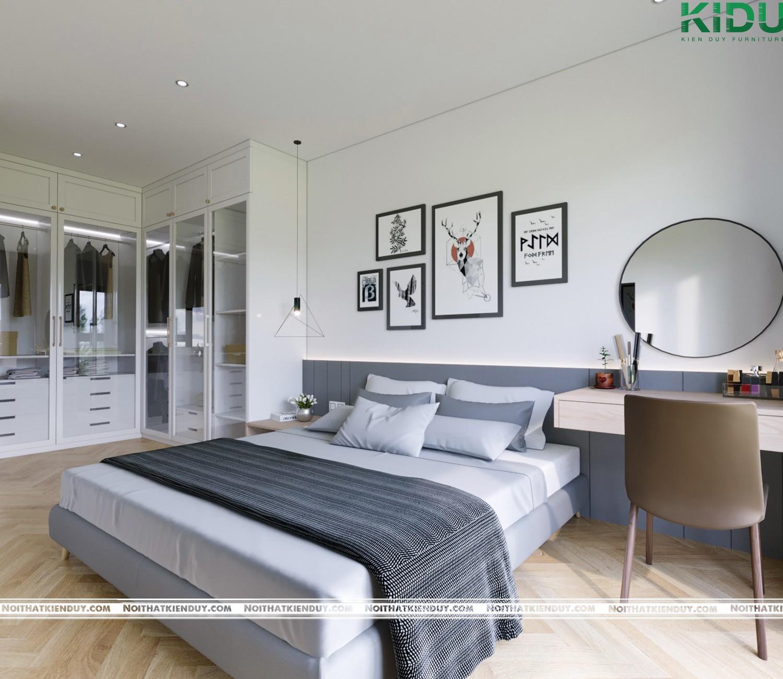 Phòng ngủ hiện đại, sang trọng