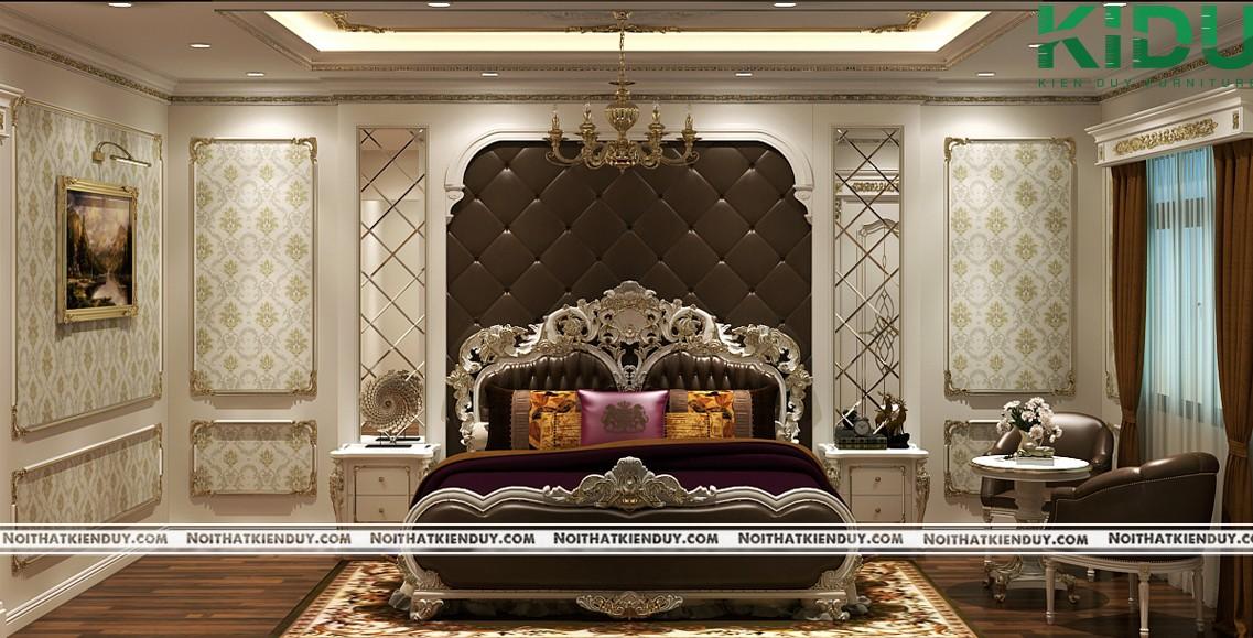 Nét cổ điển và quý tộc khi thiết kế căn phòng