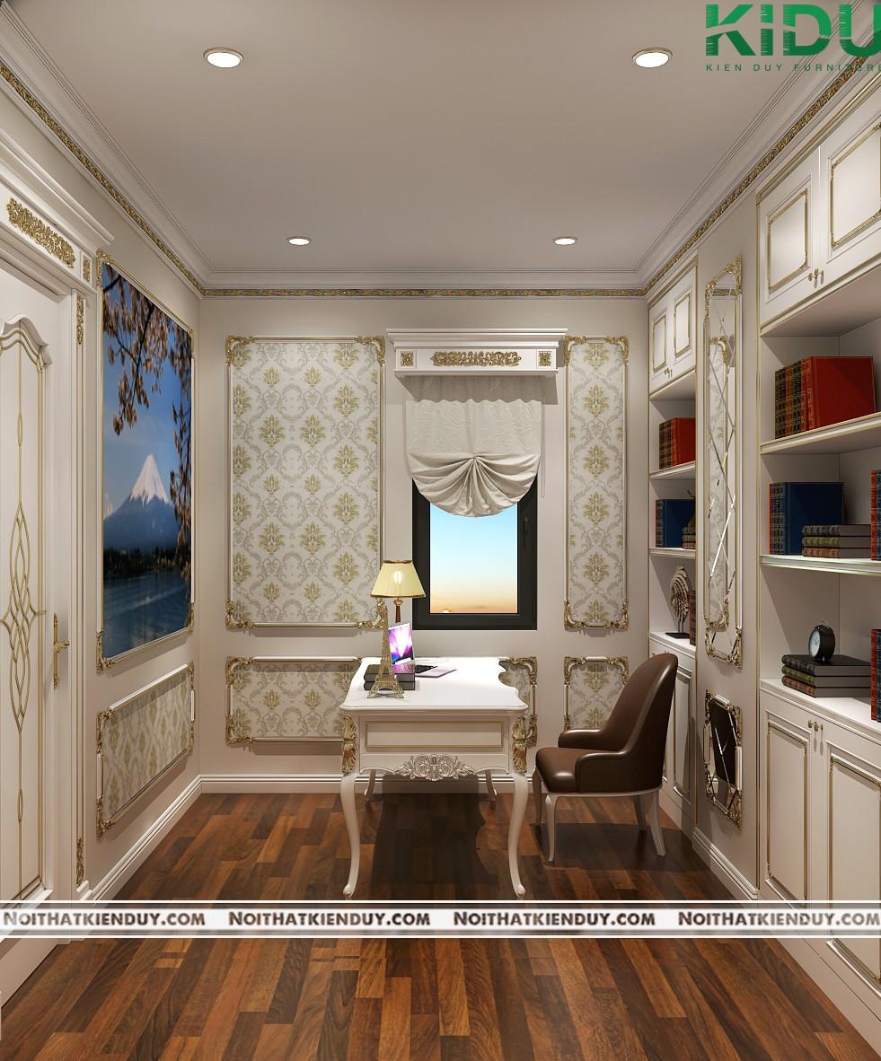 Hình ảnh tổng quan về căn phòng