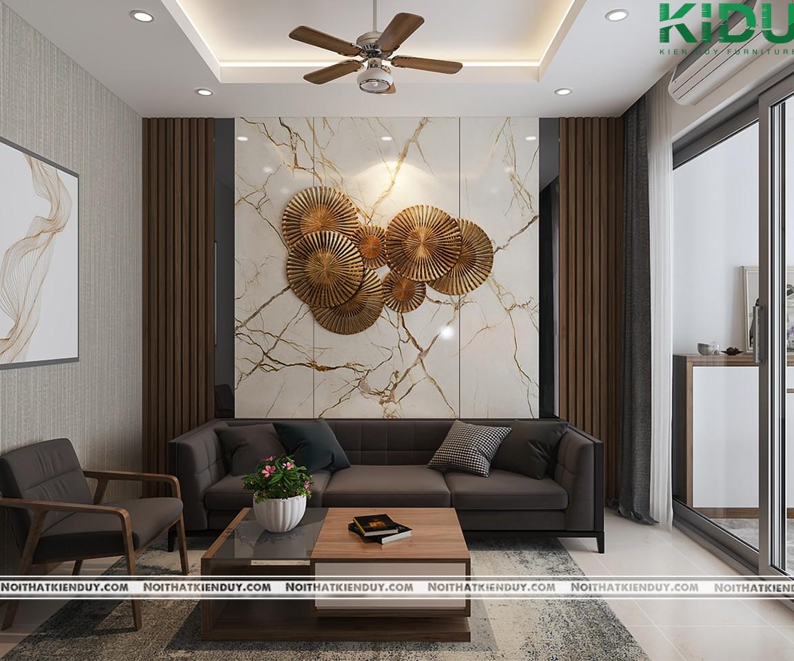Không gian phòng khách hiện đại và đầy đủ tiện nghi