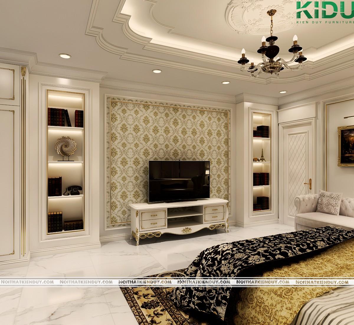 Tất cả những vật dụng và chi tiết đều phù hợp với căn phòng
