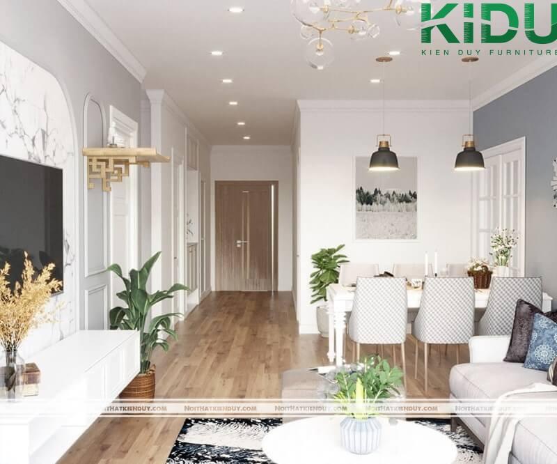 Thiết kế nội thất theo ý của khách hàng
