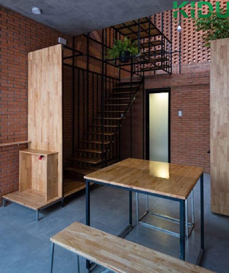 Thiết kế nội thất nhà tông gỗ mang lại sự mộc mạc