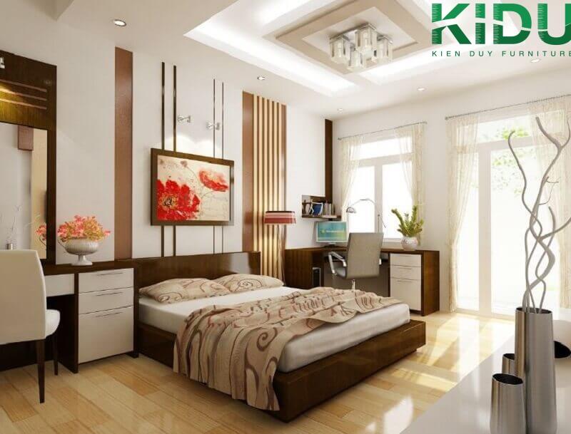 Từng phòng ngủ đều có thiết kế cửa sổ lớn đảm bảo không gian thoáng đãng