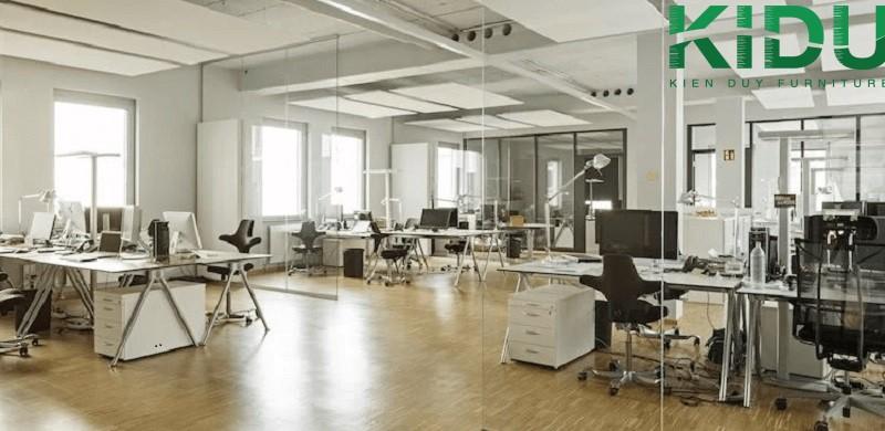 Mẫu thiết kế văn phòng làm việc nhỏ 3
