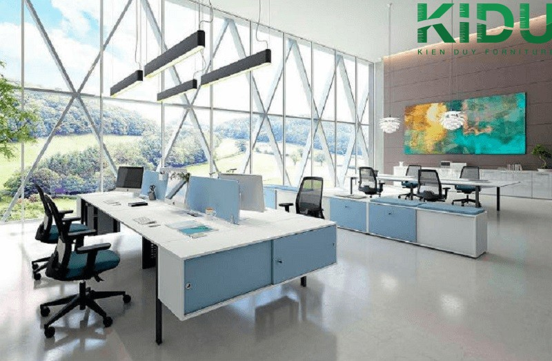 Mẫu thiết kế văn phòng làm việc nhỏ 1