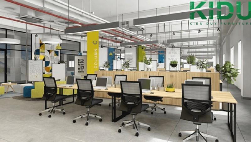 Mẫu thiết kế văn phòng làm việc nhỏ 12