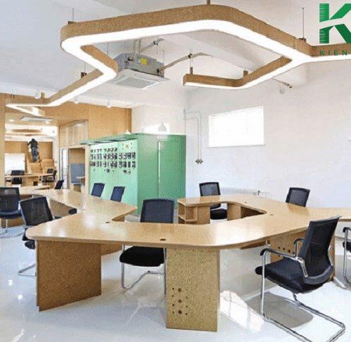 Mẫu thiết kế văn phòng làm việc nhỏ 10