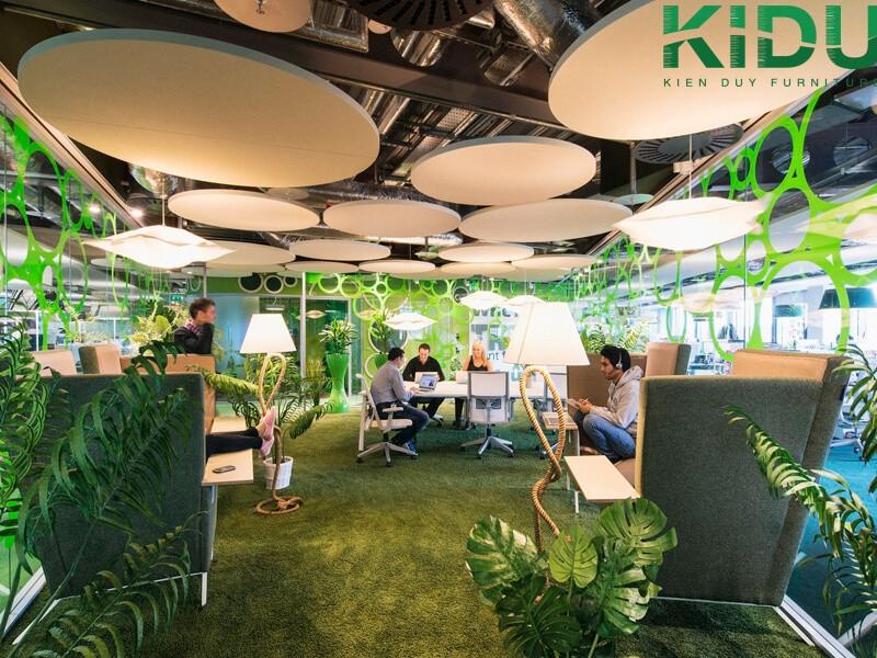 Các bước để thiết kế nội thất 100 triệu dành cho văn phòng
