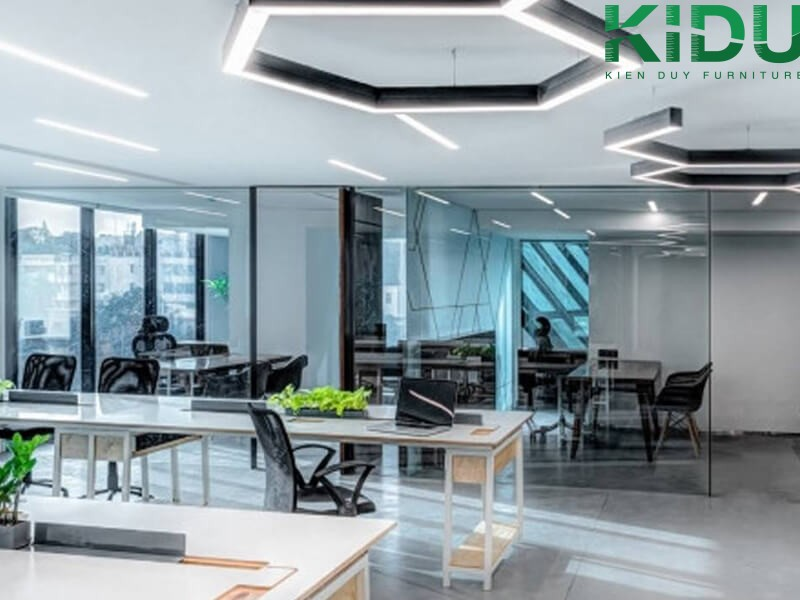 Không gian chung văn phòng cần thiết kế