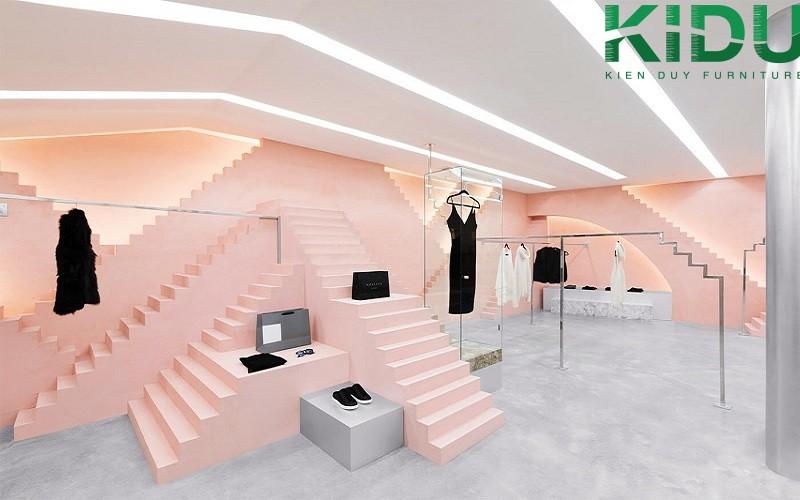 Thi công thiết kế shop quần áo thời trang 1