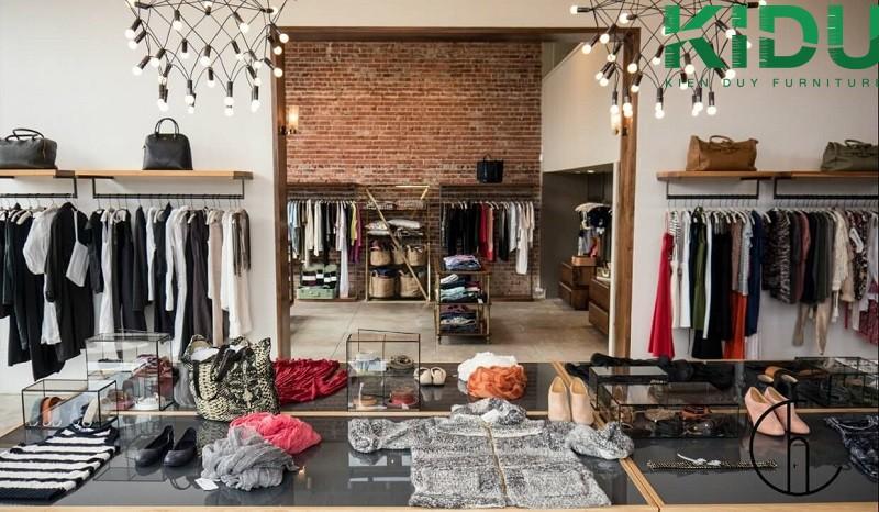 Thi công thiết kế shop quần áo thời trang 2