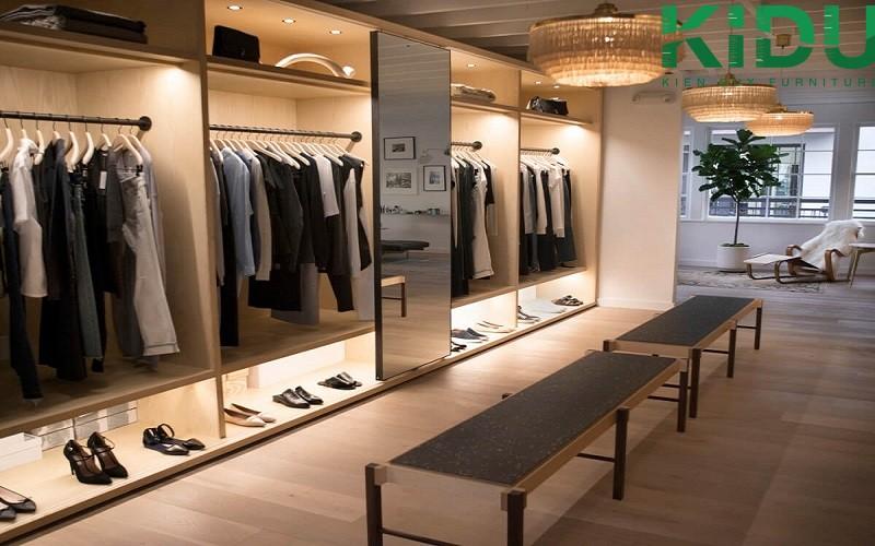 Thi công thiết kế shop quần áo thời trang 4