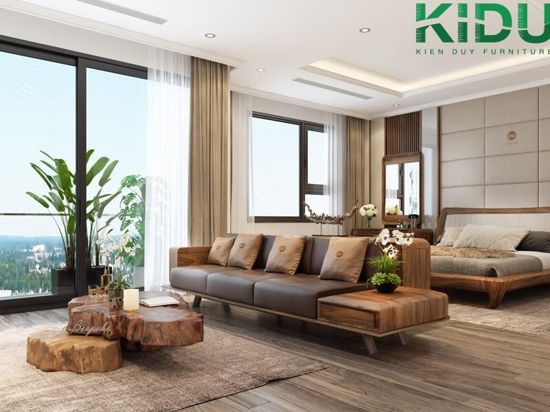 Thiết kế nội thất không gian nhỏ theo phong cách hiện đại