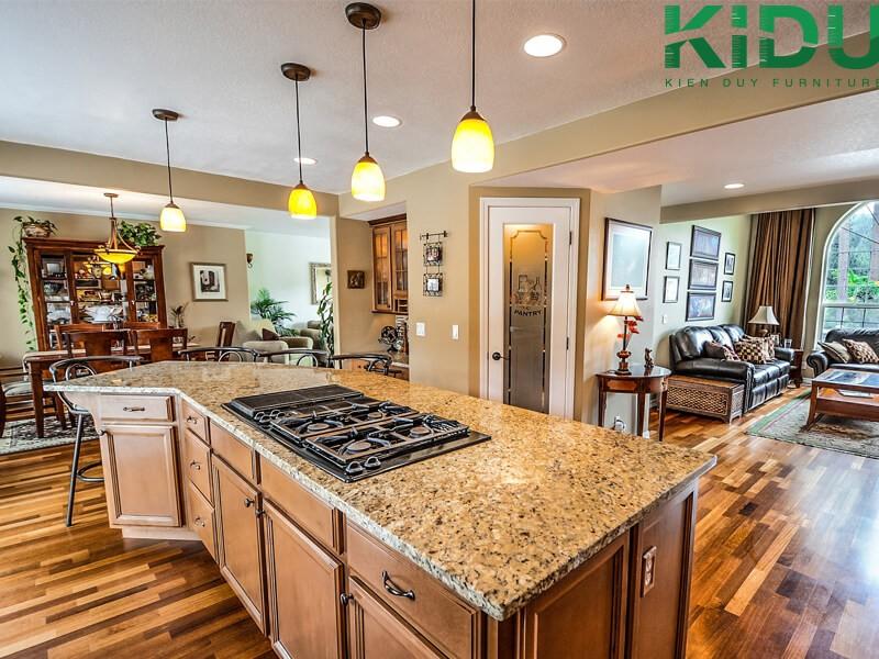 thiết kế nội thất phòng bếp hiện đại 2