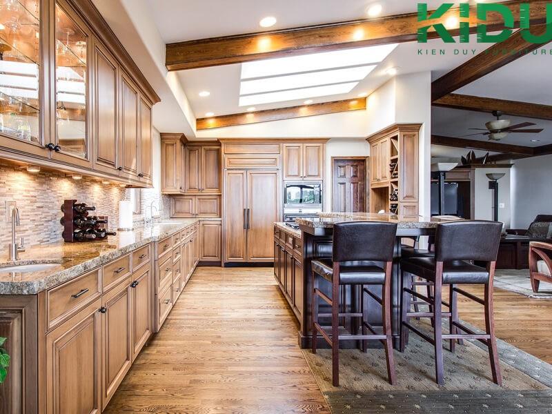 thiết kế nội thất phòng bếp hiện đại 3