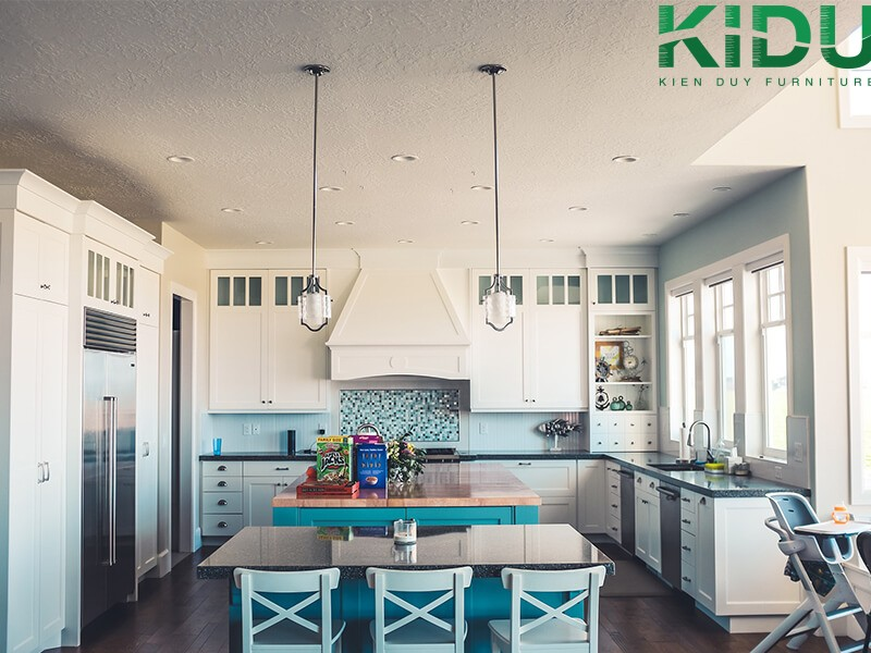 thiết kế nội thất phòng bếp hiện đại 1