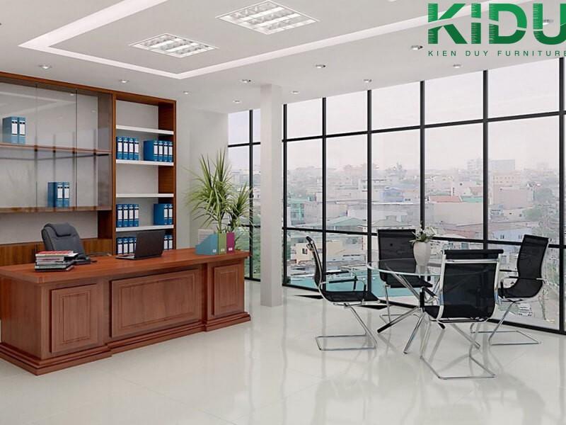 Thiết kế nội thất văn phòng theo phong cách riêng tư