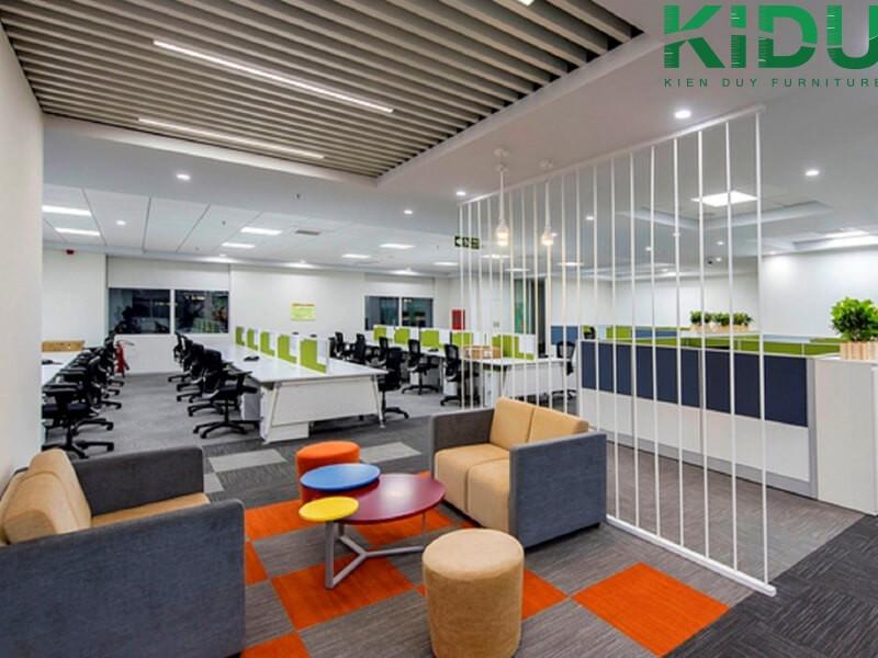 Thiết kế nội thất cho văn phòng theo kiểu sáng tạo