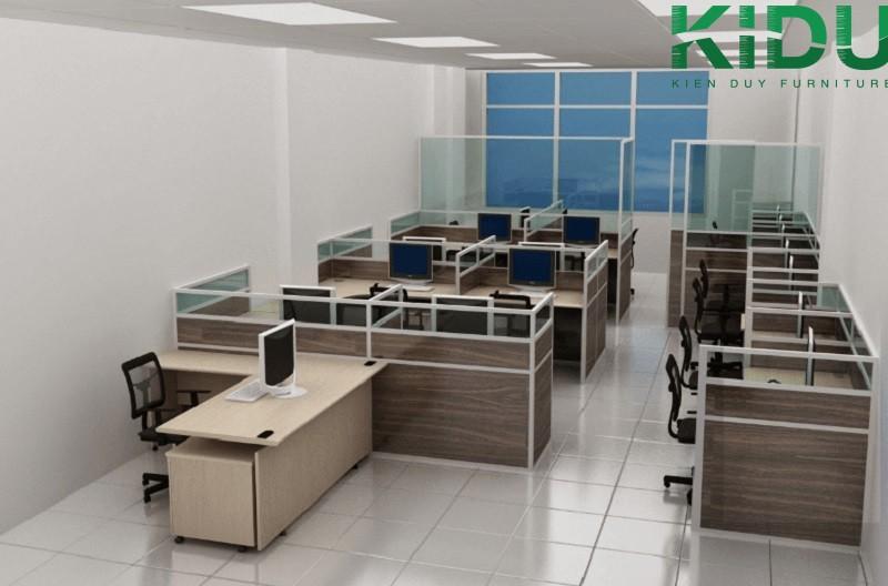 Mẫu thiết kế văn phòng làm việc nhỏ 6