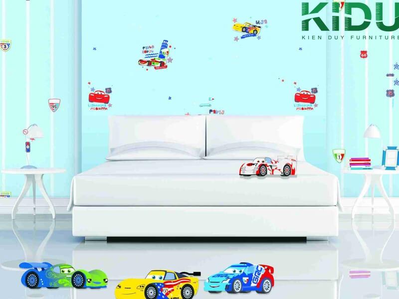 trang trí phòng ngủ các bé có độ tuổi từ 1 - 3 tuổi