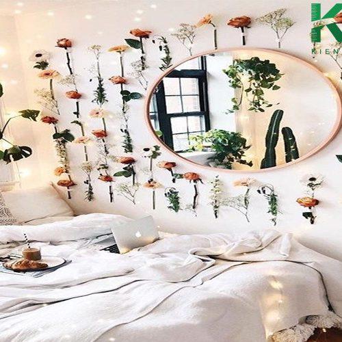 Hô biến phòng ngủ đẹp như mơ với đồ handmade tự làm