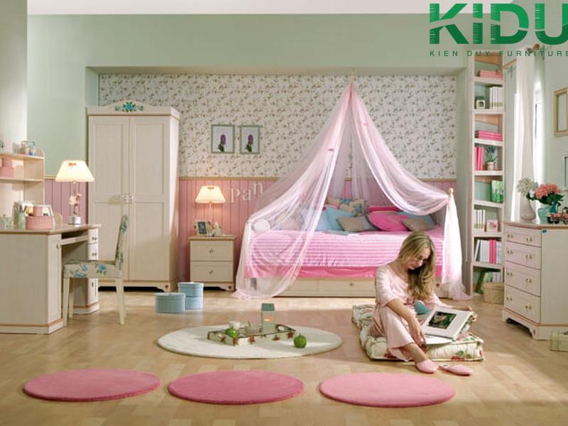 Thiết kế phòng ngủ cho bé gái
